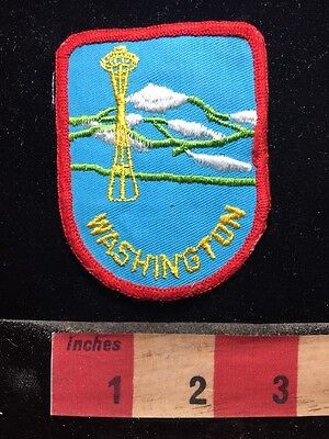 State Of Washington Patch ~ Seattle Space Needle 75P5