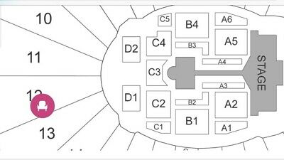 1 X 2019 BTS Rose Bowl Concert Tickets. CENTER SEAT GREAT VIEW