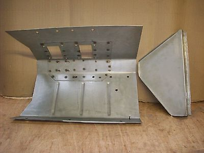 Land rover series 2 2a Right hand footwell.