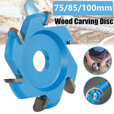 75-100mm Hexagonal Blade Woodworking Grinder Power Carving Tool H16Attachment