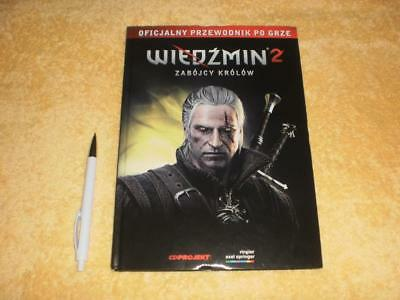 THE WITCHER Rare Official Game Guide The Witcher 2: Assassins of Kings 144 Pages