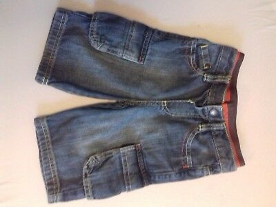 St George by Duffer boys age 1824 months denim shorts. FAST POSTAGE