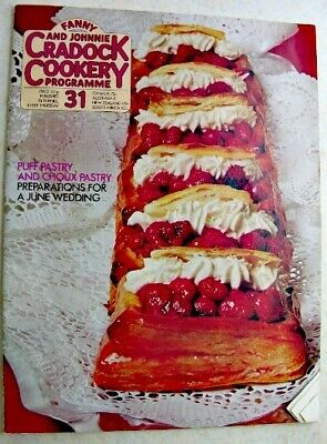 FANNY & JOHNNIE CRADOCK COOKERY PROGRAMME No 31 1971 Puff & Choux Pastry Wedding