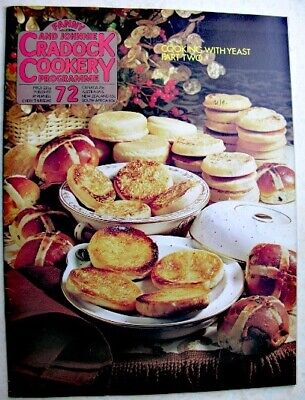 FANNY & JOHNNIE CRADOCK COOKERY PROGRAMME No 72 1971 Cooking With Yeast Part 2