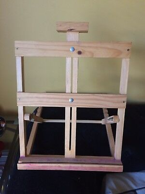 Small Pine Table Easel