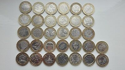 UK £2 Two Pound Coins Hunt COLLECTABLE RARE + ALBUM + FREE P&P