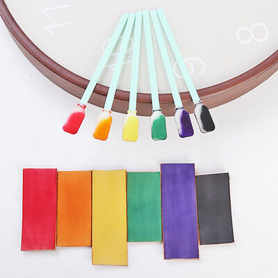 WUTA Swabs Sponge Stick Dyeing Paint Leather Craft Dyes Inks Stains Applicator