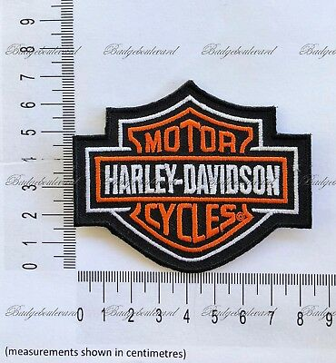Harley Davidson Motorcycle Badge Embroidered Cloth Patch