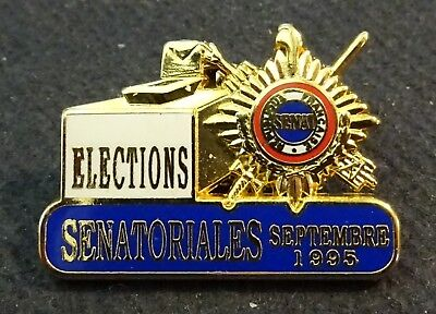 Pin's badge Elections Sénatoriales septembre 1995 Sénat     ATC
