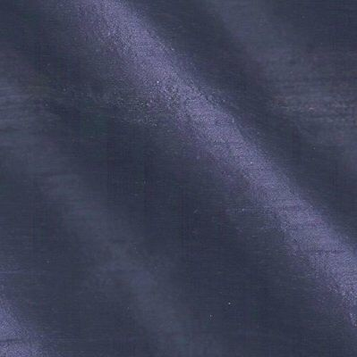 100% Natural Silk Dupioni Fabric Navy Blue Indian  Quality (BY THE YARD SALE)