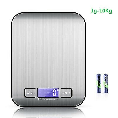Digital 1g-10kg Kitchen LCD Electronic Kitchen Cooking Food Scales Weighing