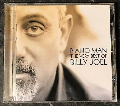 Piano Man The Very Best Of Billy Joel (18-Track Music Cd) Good As New Free Post
