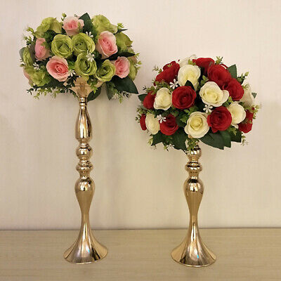 UK Iron Candle Holder Stick Stand Candlestick Wedding Church Home Decor 3 Colors