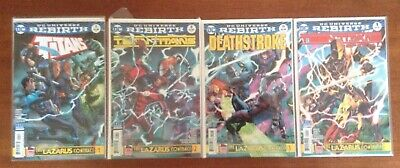 Teen Titans #8, Titans #11, Deathstroke #19 The Lazarus Contract Complete Story