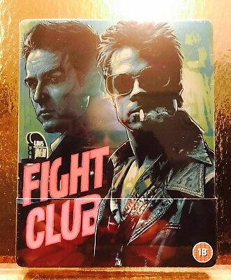 STEELBOOK Blu-ray Fight Club  [ Zavvi Limited  ]