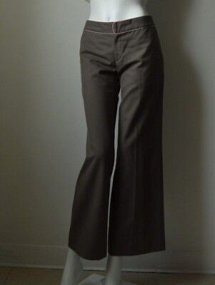 Rebecca Taylor Wool Blend Women's Pants Gray Pre-owned Size 4