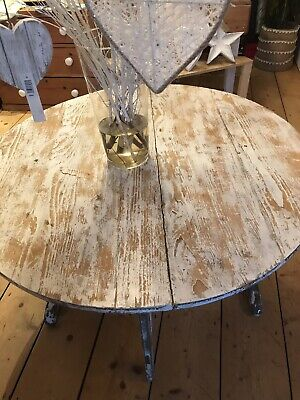 Old Painted French Round Table
