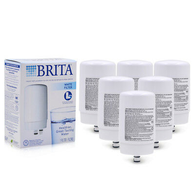 1-20PCS Brita On Tap FR-200 FF-100 Faucet Water Filter Replacement Filters White