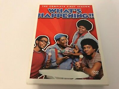 Whats Happening - The Complete 1st First Season (DVD, 2004, 3-Disc Set)