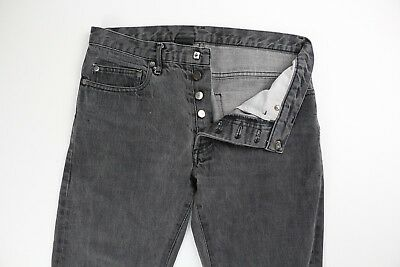 c8739a5c DIOR HOMME MENS Faded Black Gray Denim Jeans Size 30 x 30 - $69.99 ...