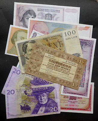European Banknotes Germany/Spain/Hungary Some Unc Notes (Bn#10)