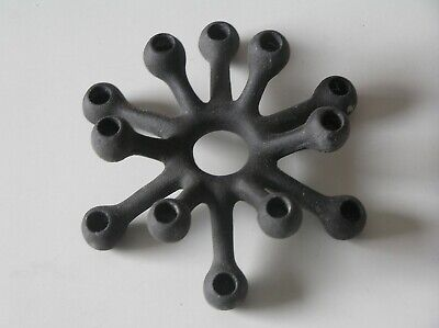 Dansk IHQ Quistgaard Cast Iron Candle Holder Tiny 12 Taper Spider
