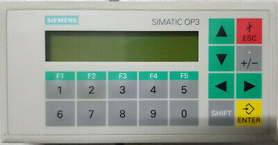 SIEMENS SIMATIC OP3 6AV3503-1DB10 OPERATOR PANEL top Zustand!