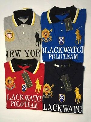 Polo Ralph Lauren Big Pony Polo Shirt Mens NWT short Sleave  Embroider S M L XL