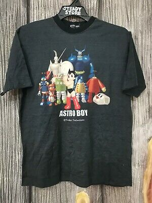Astro Boy Mighty Atom Manga Anime REAL HERO Adult Long Sleeve T-Shirt S-3XL