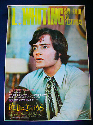 1971 SAY HELLO TO YESTERDAY Jean Simmons Leonard Whiting Japan original POSTER