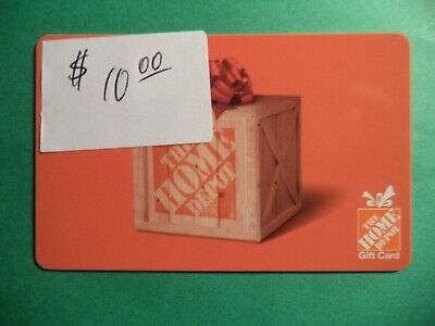 $10 Home Depot Gift Card
