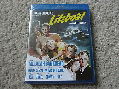 Lifeboat Alfred Hitchcock Blu Ray NEW SEALED Steinbeck