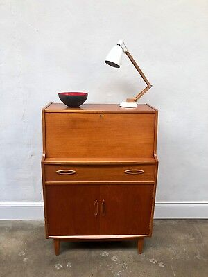 Vintage  JENTIQUE Teak Bureau Sideboard. Danish Retro G Plan. DELIVERY AVAILABLE