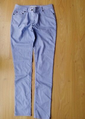 BODEN Johnny B  girl's slim/skinny jeans/trousers, light blue 30L