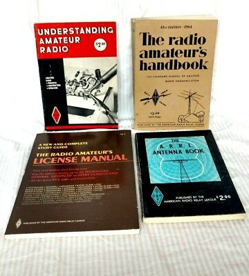 Lot Of 4 Vintage Amatuer Radio Books