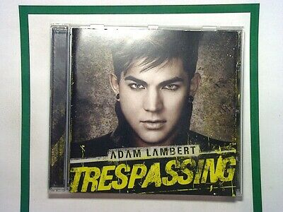 Adam Lambert - Trespassing (2012) CD Mint