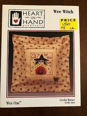 Wee Freedom Heart In Hand Wee One Cross Stitch Mini PATTERN LEAFLET NEW