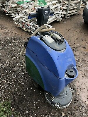 Numatic Battery/Mains Floor Scrubber Polisher Dryer
