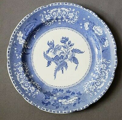 "Spode Camilla Blue Dinner Plate 10.5"" Camilla Blue  - Old Blue Mark"