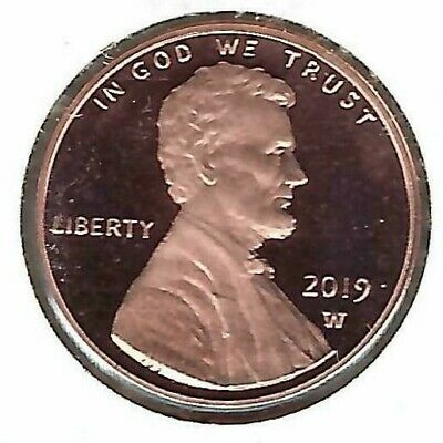2019-W West Point Shield Lincoln (Proof) Cent!
