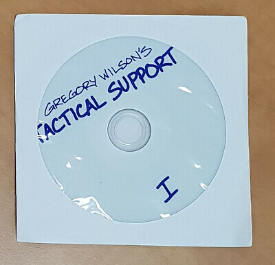 Gregory Wilson's Tactical Support 1 & 2 + Flippin Miracles- 3 x DVDs - Very Rare