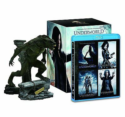 Neuf Underworld Lycan 4-pack Blu-Ray Edition avec Figurine From Japon F/S