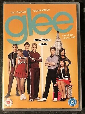 Glee Complete Season 4 (6-Disc Dvd Set) Brand New & Factory Sealed Mint