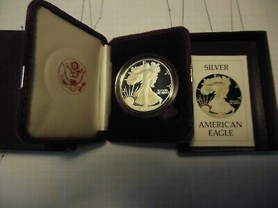 1986-S 1 oz Silver American Eagle Proof