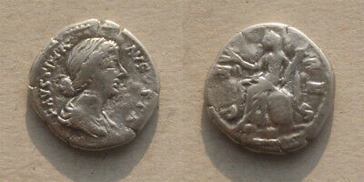 Faustina II Minor - Wife of MArcus Aurelius - Ceres - Roman Silver Denarius