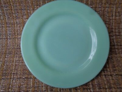 Vintage Fire-King Jadeite Restaurant Ware Pie/ Bread Plate