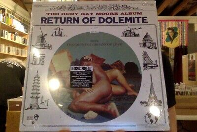 Rudy Ray Moore Return of Dolemite LP sealed vinyl RSD 2019 Record Store Day