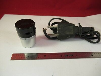 For Parts Wild Heerbrugg Swiss Lamp Bulb Holder Microscope Part Optics &J9-B-08
