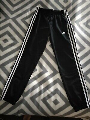 NEW ADIDAS TRACK PANTS BOYS SIZE 11-12 years