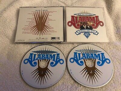 Alabama For The Record 2 X Cd Rare Oop Country